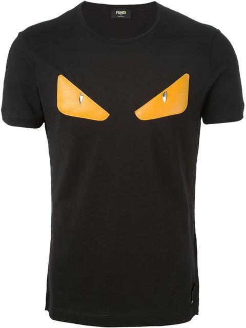 a155834c046f FENDI Bag Bugs Appliqué T-Shirt.  fendi  cloth  t-shirt   Fendi Men ...