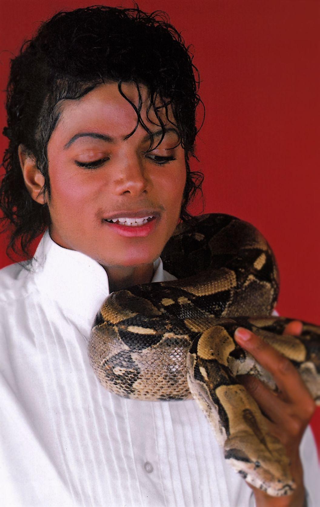 Michael Jackson & Muscles