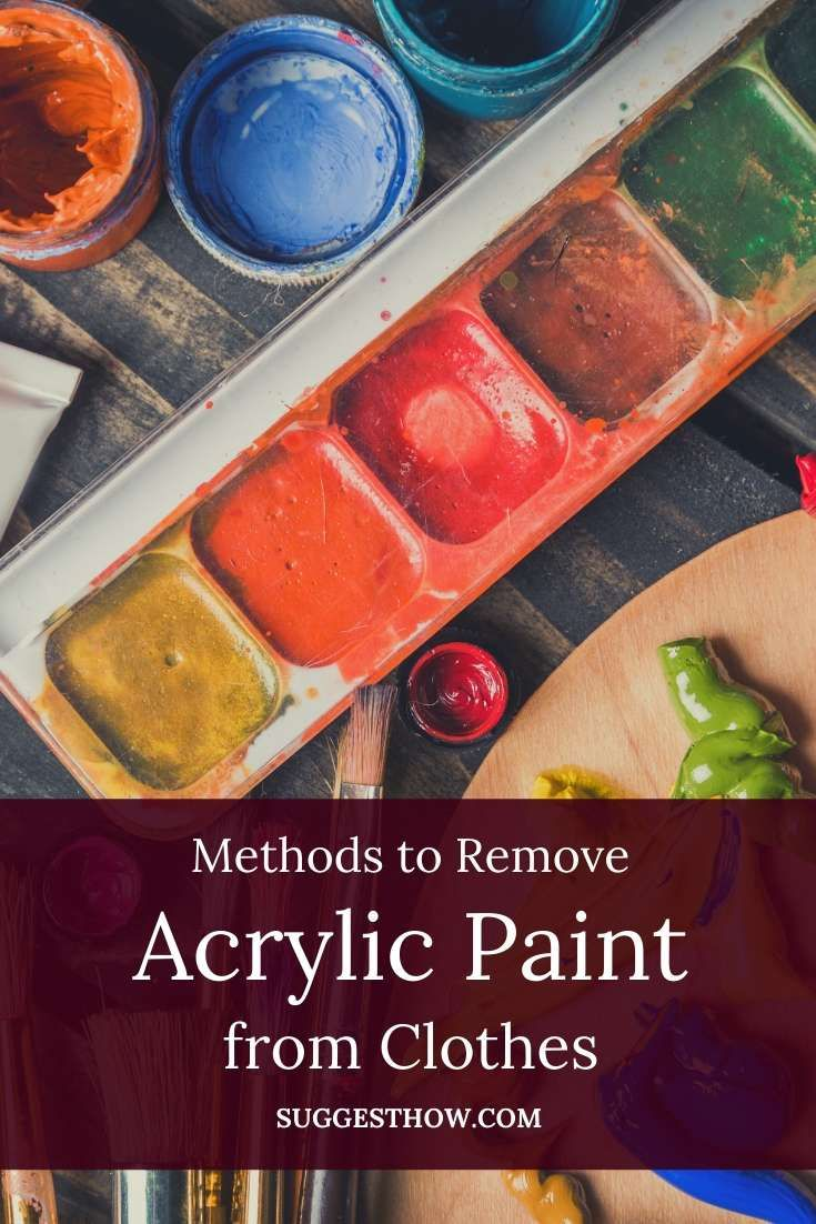 Easy Steps To Remove Acrylic Paint From Clothes Cleaning