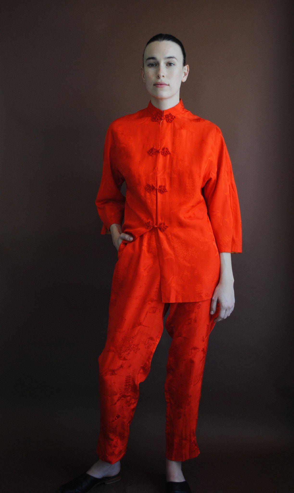 Poppy Silk Set