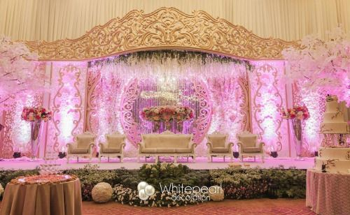 White pearl decoration wedding decoration jakarta jl mandala white pearl decoration wedding decoration jakarta jl mandala wedding weddings junglespirit Choice Image