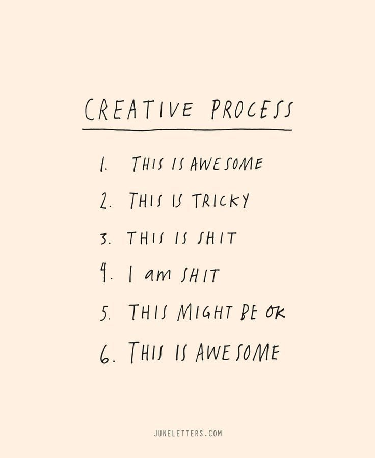 The Creative Process \u2014 June Letters Studio Business quotes for