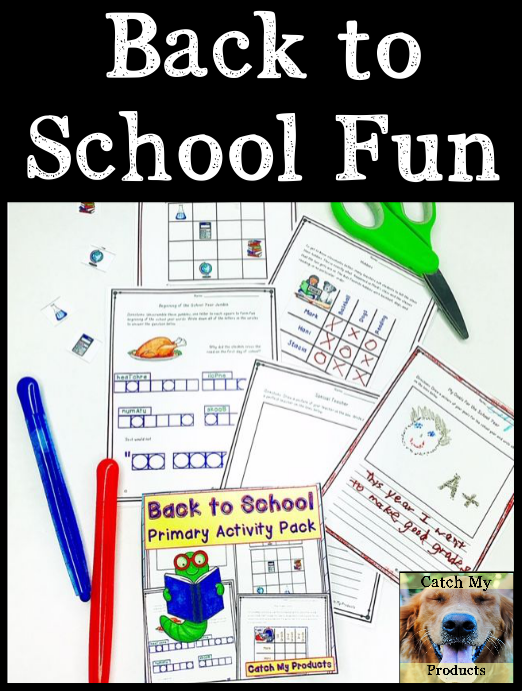 Back To School Activities Logic Puzzles