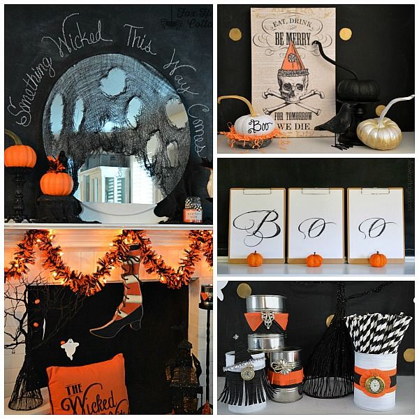 Last Minute Halloween Party, Costume and Decorating Ideas - halloween party decoration ideas