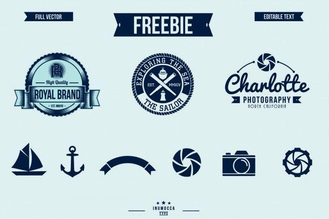 free retro badge sign templates iconography pinterest badge