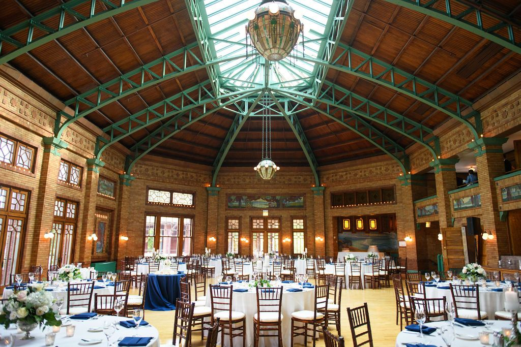 Cafe Brauer The Great Hall in 2020 Chicago wedding