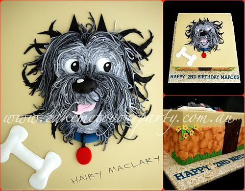 Birthday Cakes For Dogs In Massachusetts ~ Hairy maclary cake cake boy cakes and marble cake