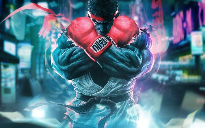 Download wallpapers Street Fighter 5, 4k, fighting game