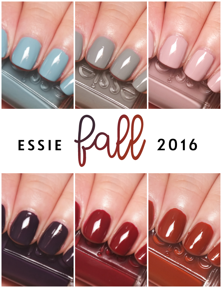2016 Nail Colors : colors, Japanese, Essie, Collection, Nails,, Colors,, Color, Trends