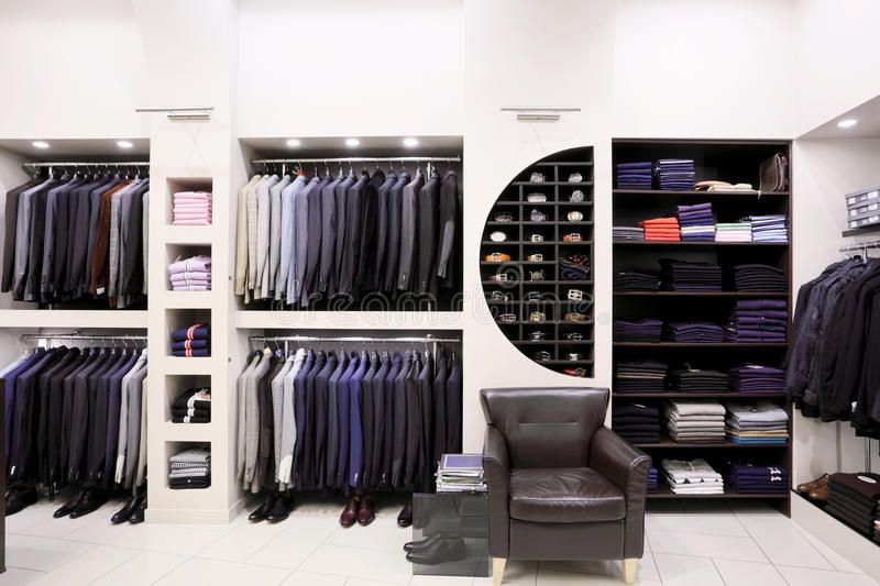 Stylish Men S Clothes In Shop Luxury Men S Clothes And