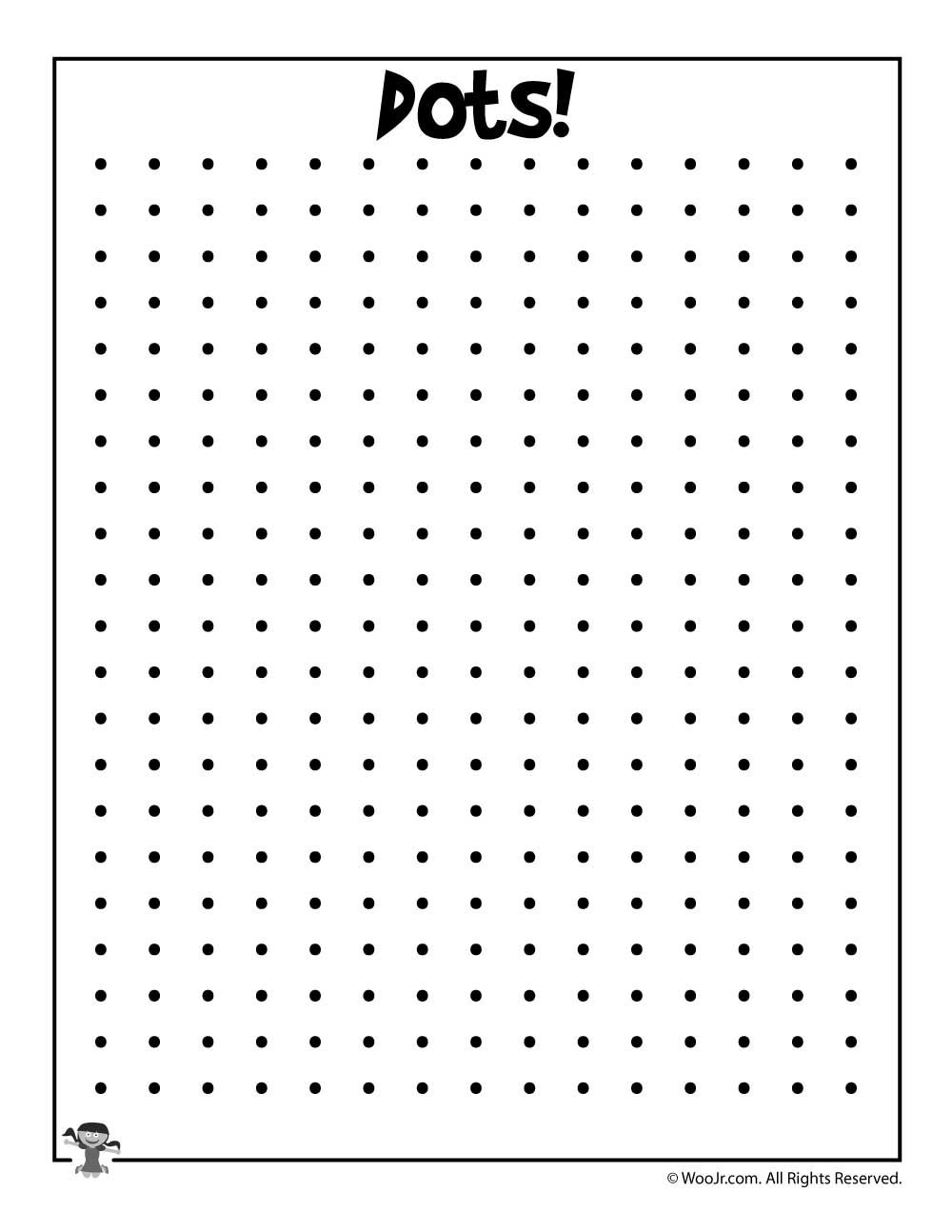 graphic about Dot to Dot Games Printable identify Printable Dots Recreation Printable game titles Dots recreation, Dot in direction of