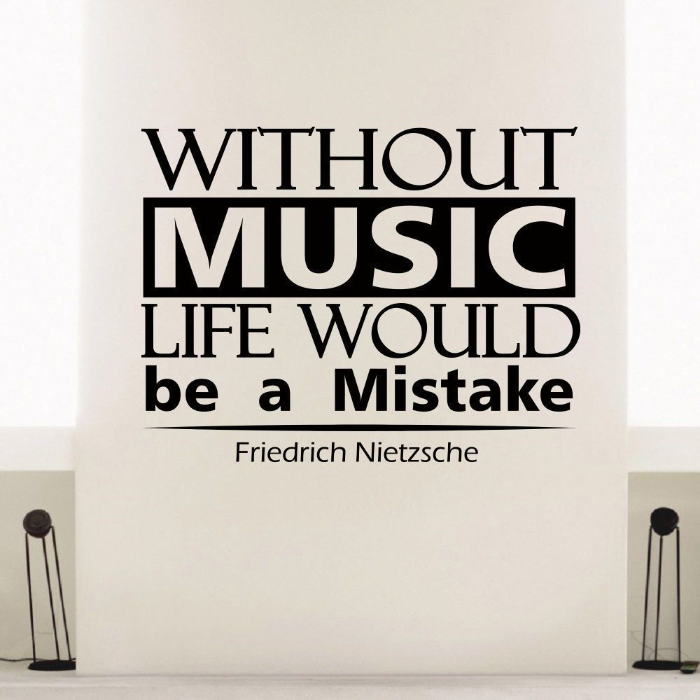 Overstock Com Online Shopping Bedding Furniture Electronics Jewelry Clothing More Nietzsche Quotes Inspirational Music Quotes Vinyl Art Quotes