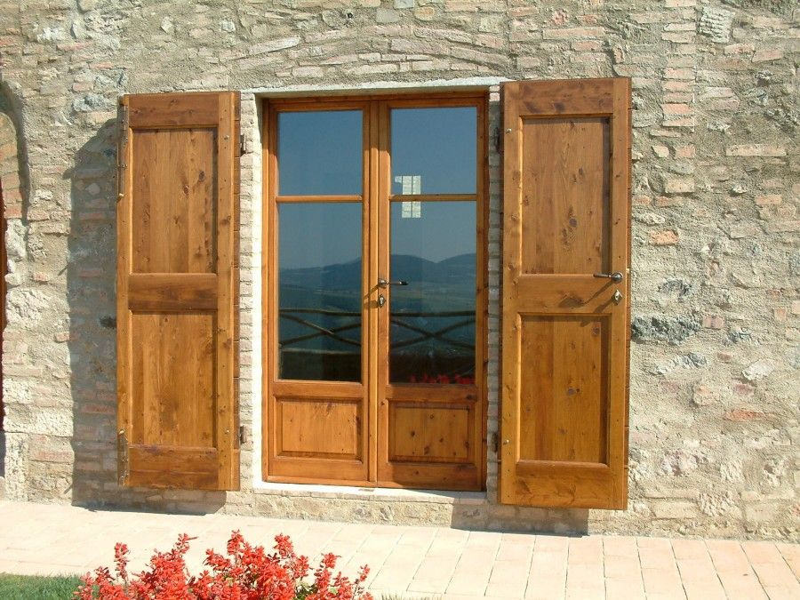 Rustico Exterior Shutters 94 | Tuscan Shutters | Pinterest ...