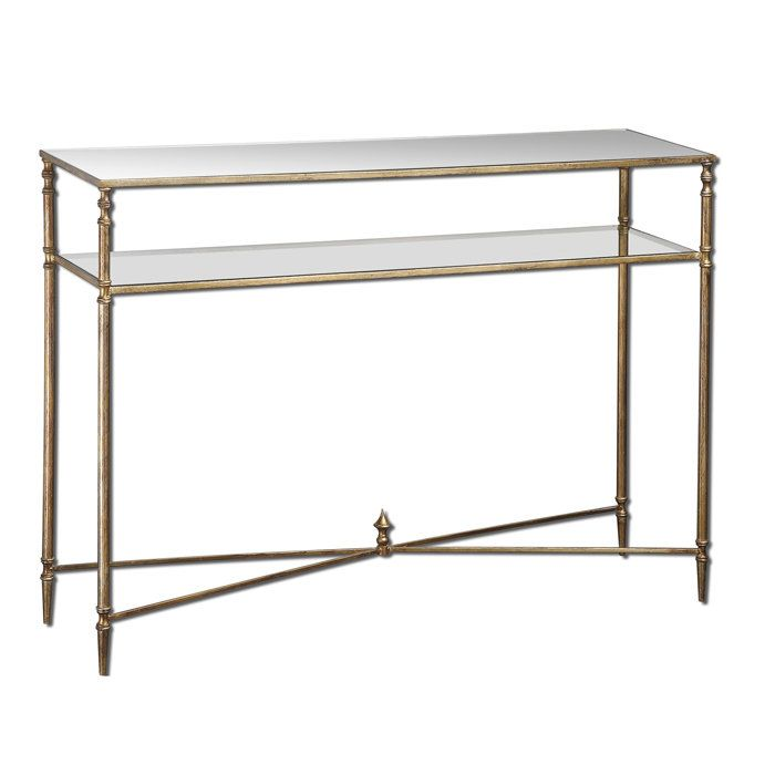 dining room console table option henzler metal glass
