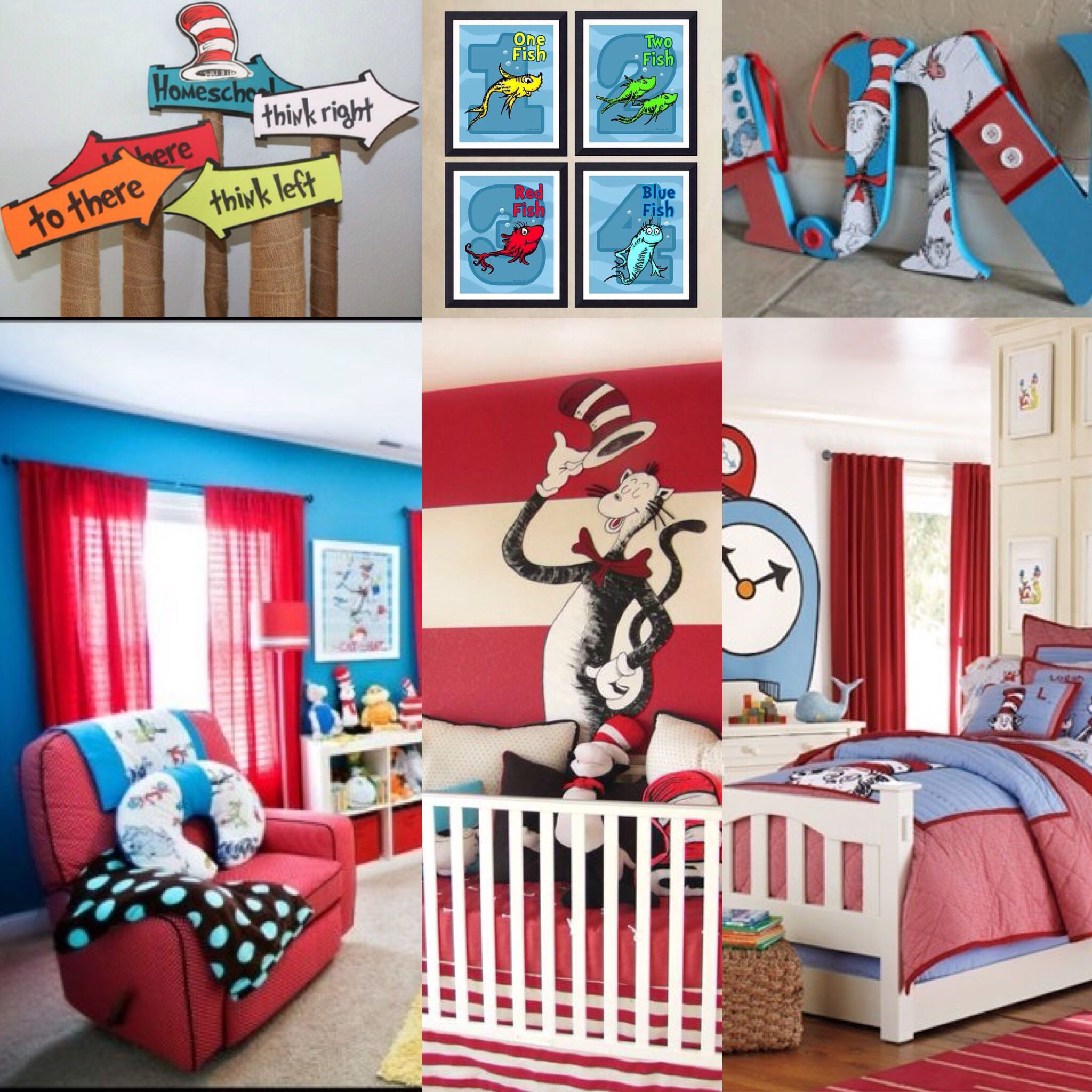 The total picture: red white and blue color scheme, frases and ...