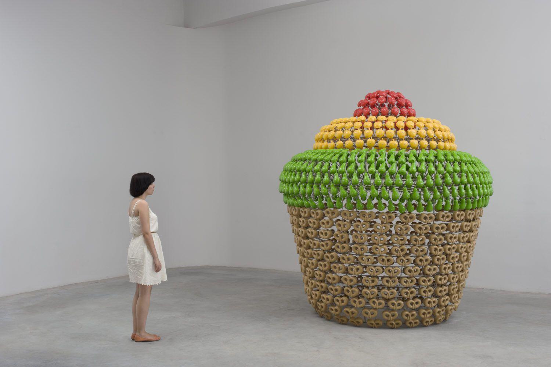Joana Vasconcelos - 'Petit Gâteau' (Small Cake), 2011