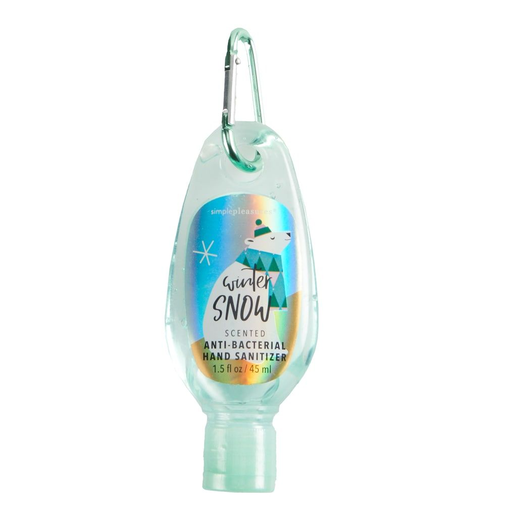 Simple Pleasures Winter Snow Anti Bacterial Hand Sanitizer Multi