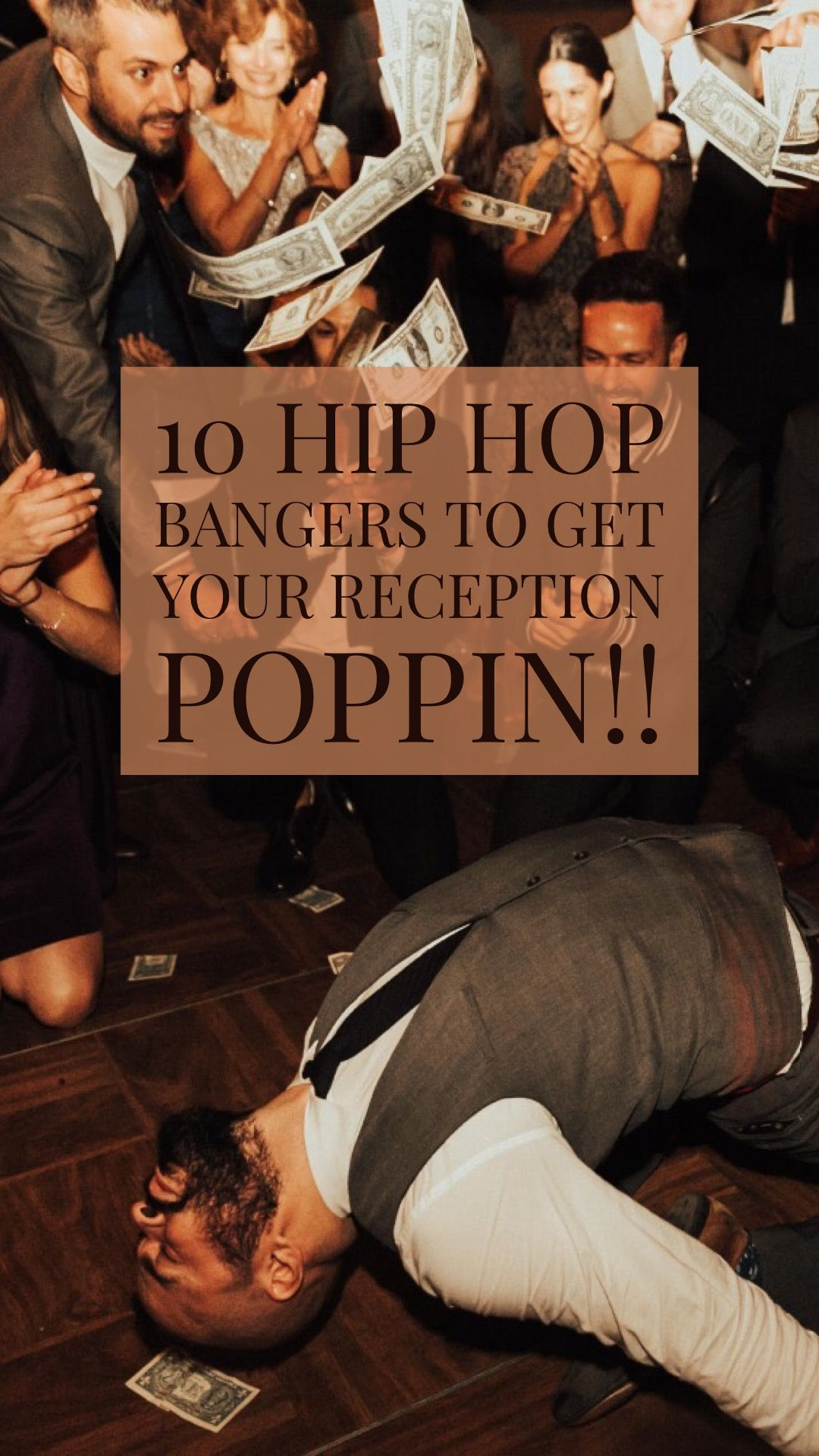 10 Hip Hop Bangers To Get Your Reception Poppin' Wedding