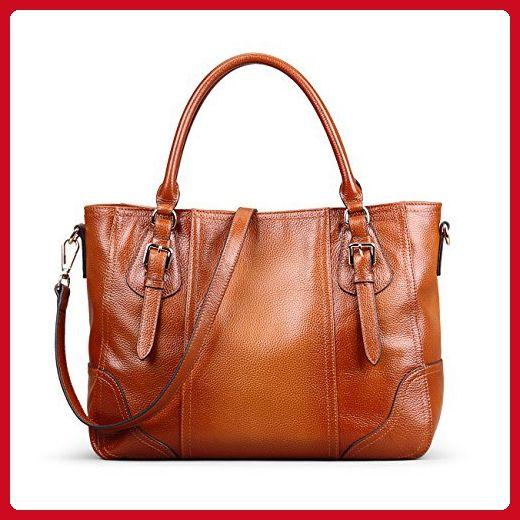 62754b13c97a Bag · AINIMOER Women s Vintage Soft Genuine Leather Shoulder Bag Unisex Big  Capacity Handbags Tote ...