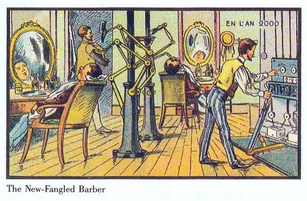 15 pinturas que muestran cómo imaginaron en 1900 que sería el año 2000 - Yahoo Noticias