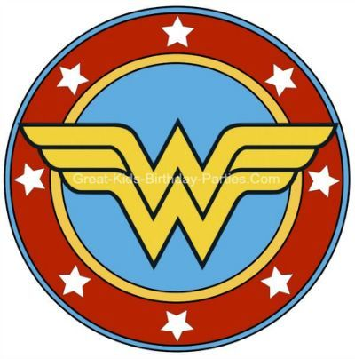 Printable Free Wonder Woman sparks summer camp Pinterest