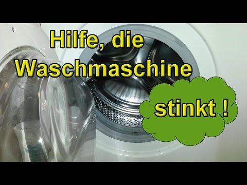 Waschmaschine Stinkt Riecht Waschmaschine Reinigen Sauber Machen