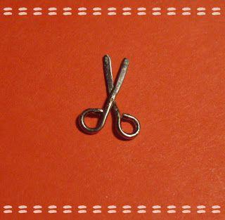 Dollhouse Miniature 1 pcs Mini Small Opens Metal Silver Scissors Sewing 1:12