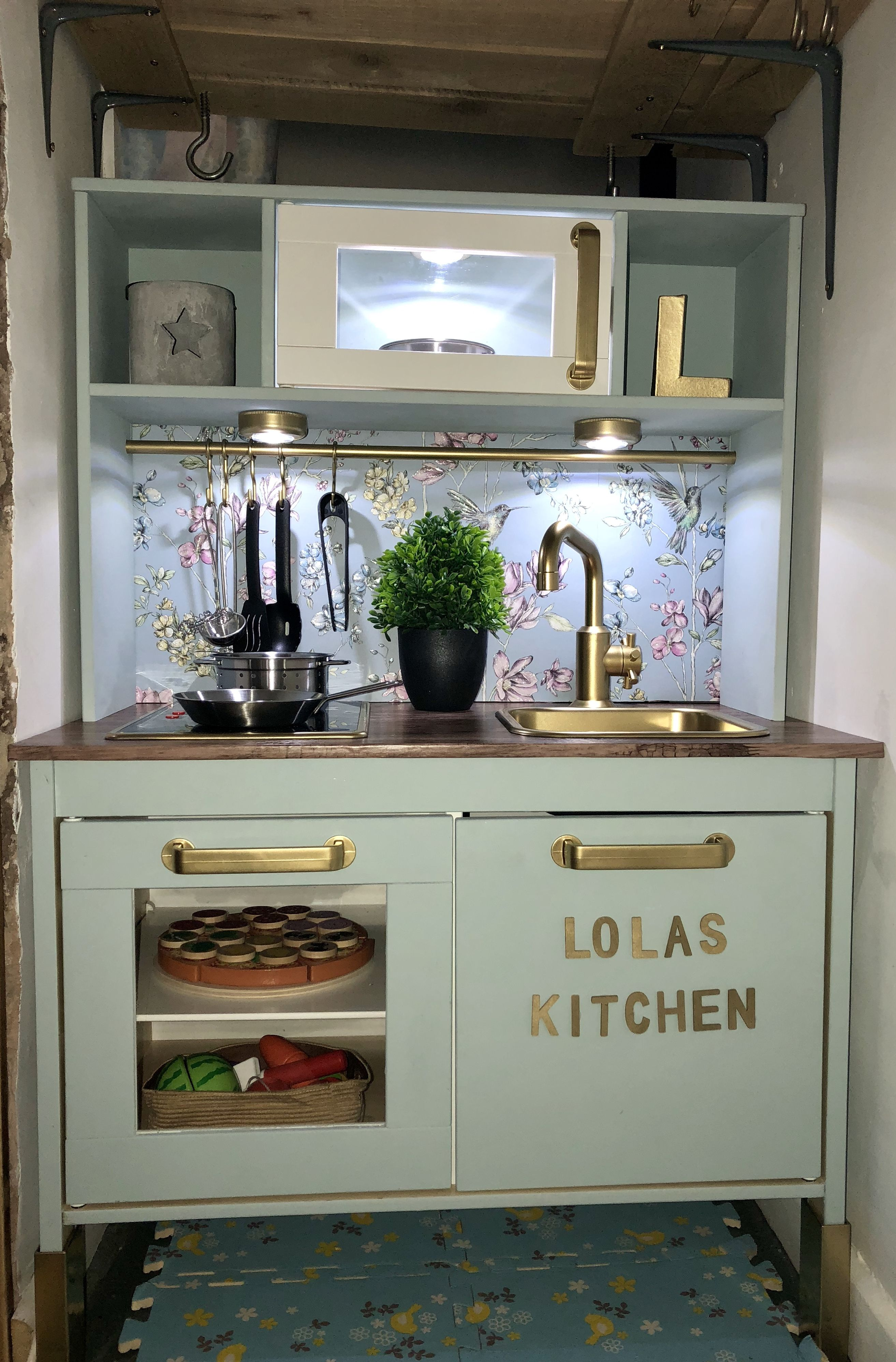 My ikea kitchen Duktig that we've hacked very pleased with