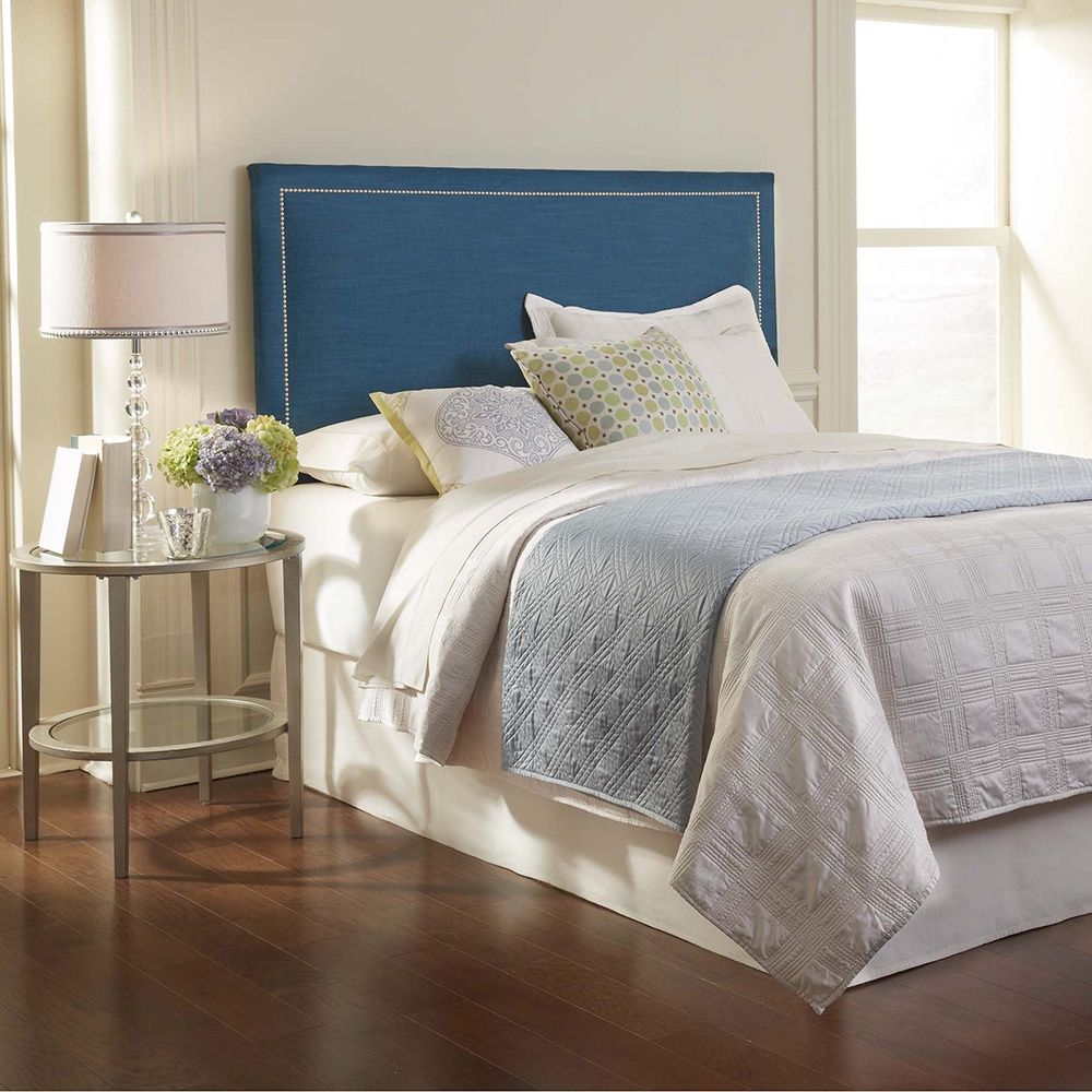 Light up the room with this stunning upholstered clermont headboard