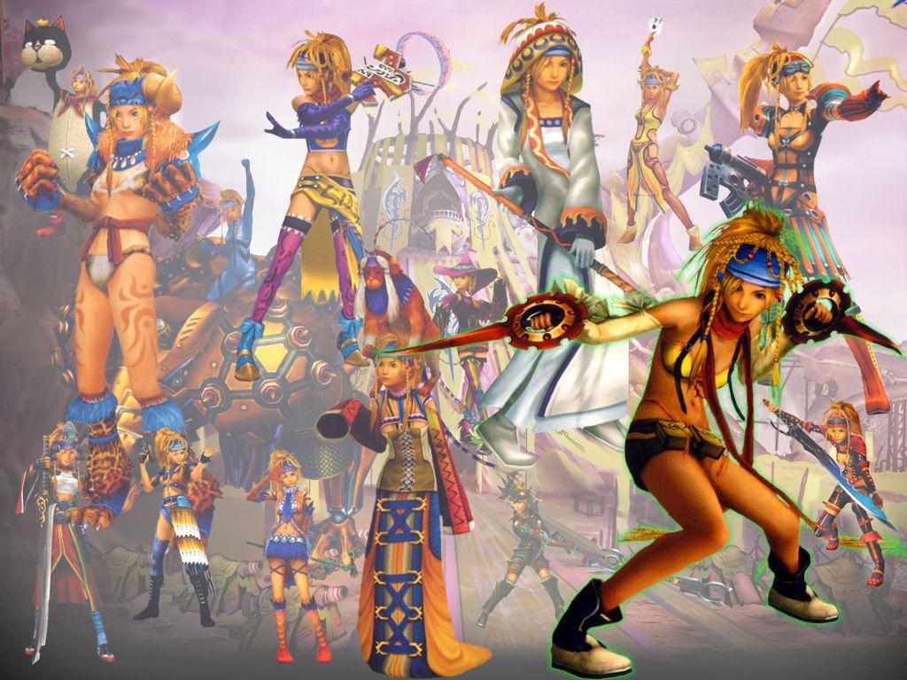 FFX-2 Dresspheres Rikku   Final Fantasy Forever   Pinterest
