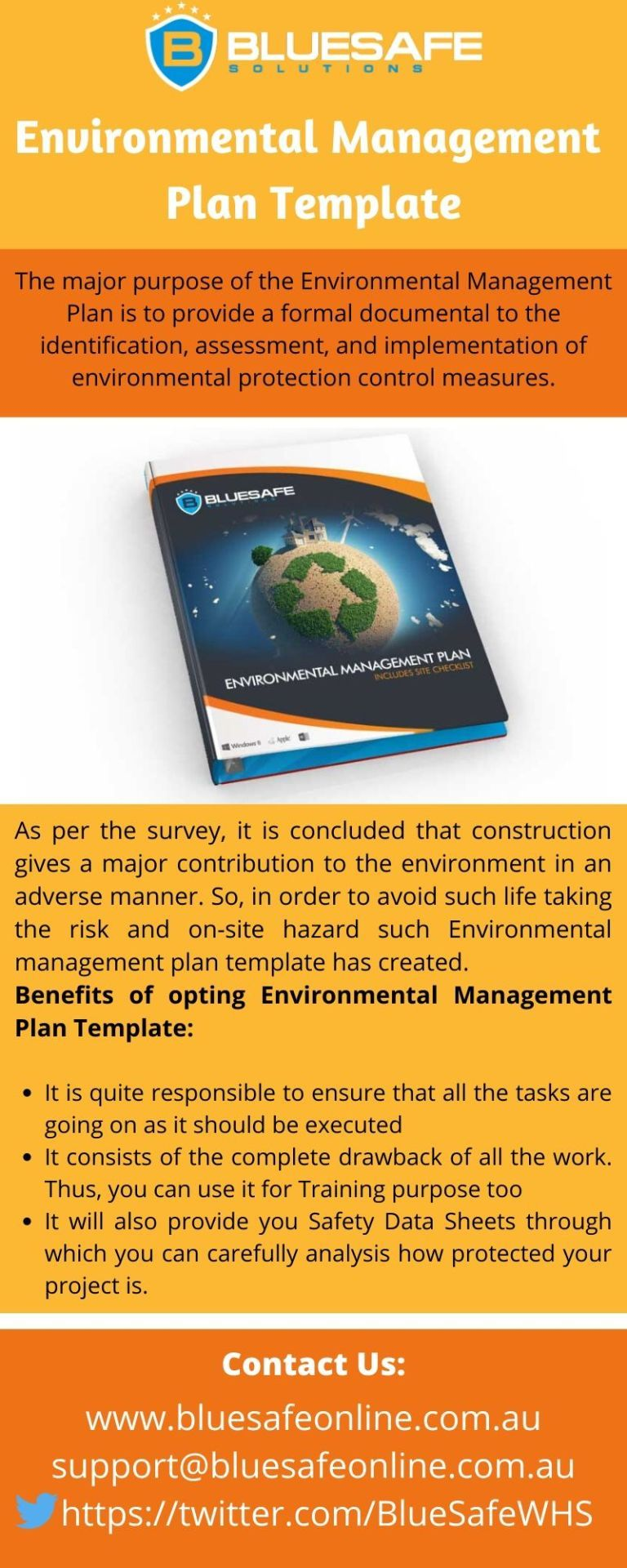 Management Plan Template to Avoid Components Which Harms