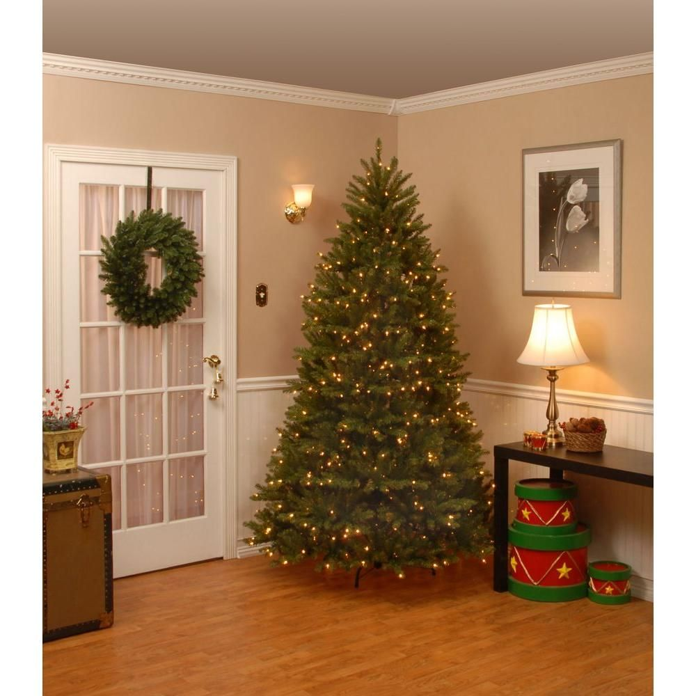 Dunhill Fir Christmas Tree.National Tree Company 7 5 Ft Dunhill Fir Artificial