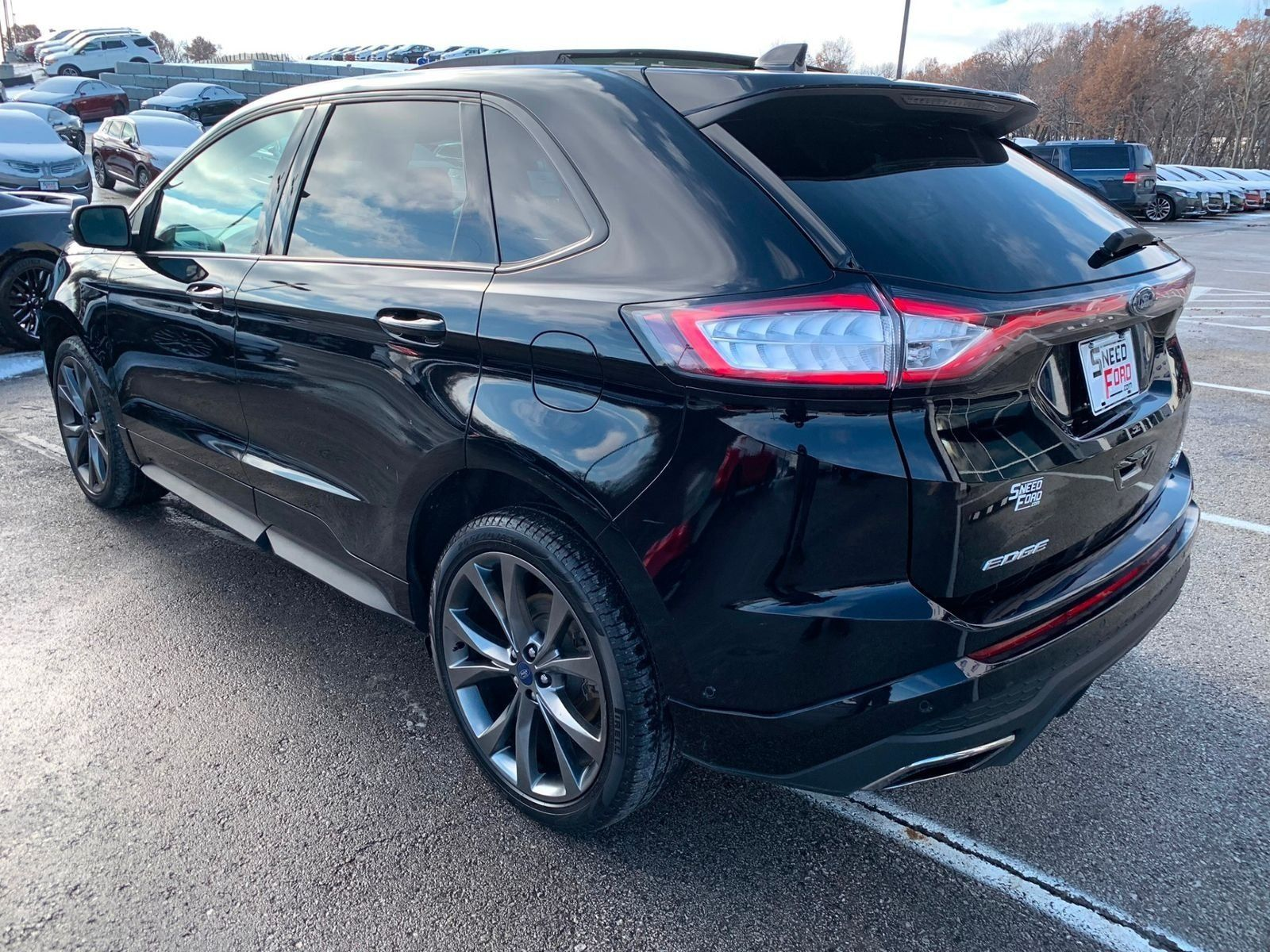 New 2016 Ford Edge Sport Blacked Out With Images Ford Edge