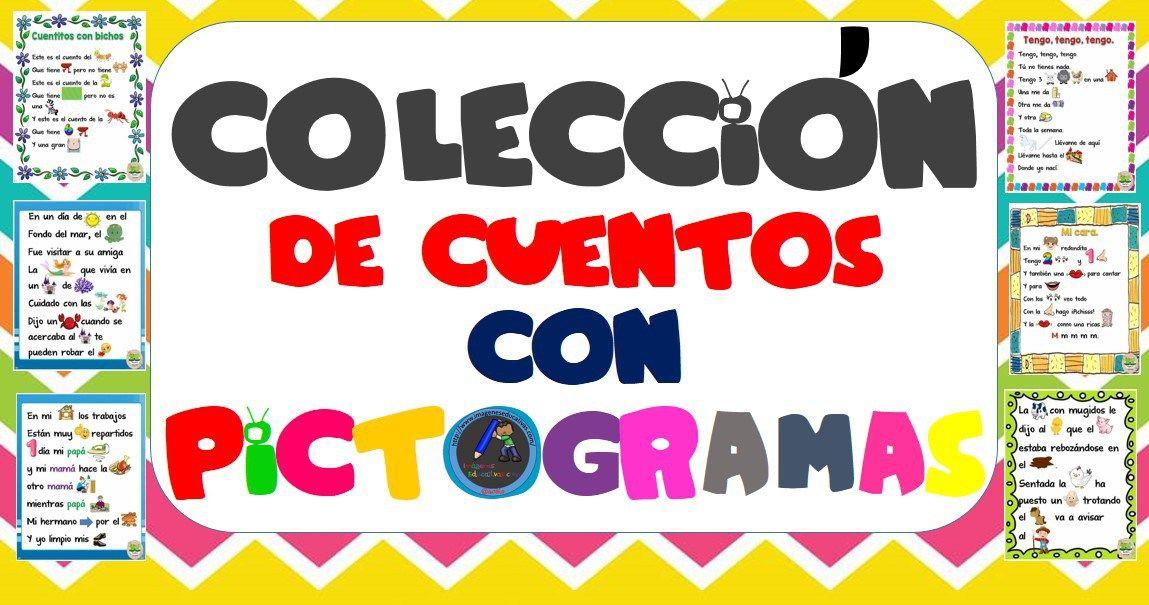 Colección de cuentos con pictogramas | Lecturas en español | Pinterest