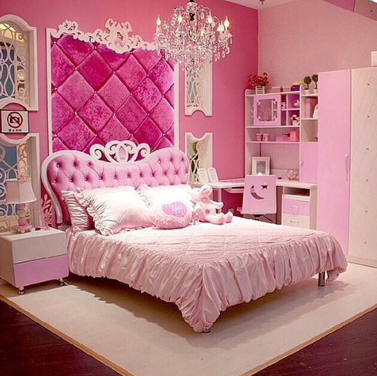 pink girly bedroom princess bedroom