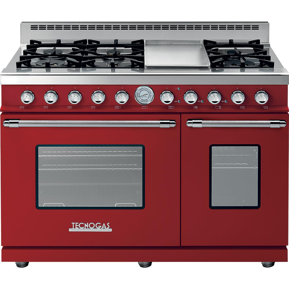 Tecnogas Superiore 48-Inch DECO Natural Gas Range With 6 Burners ...