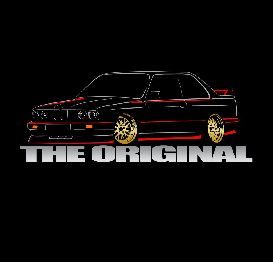 Bmw Z3 Drift Car: E30 M3 T-shirt Classic Drift Sports Bmw Car Tuning 318 320