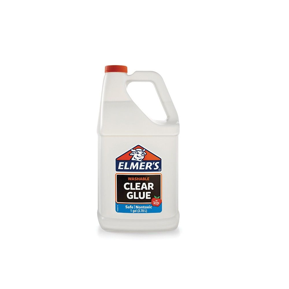 Elmer S 1gal Washable School Glue Clear In 2020 Clear Glue Elmer S Clear Glue School Glue