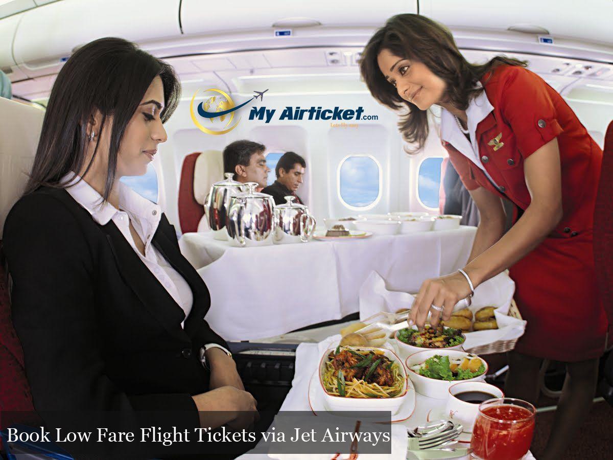 Luxury ailine services on jet airways travel