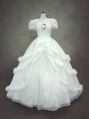 Hello Kitty Wedding Gown This Is Our Trademark Gown