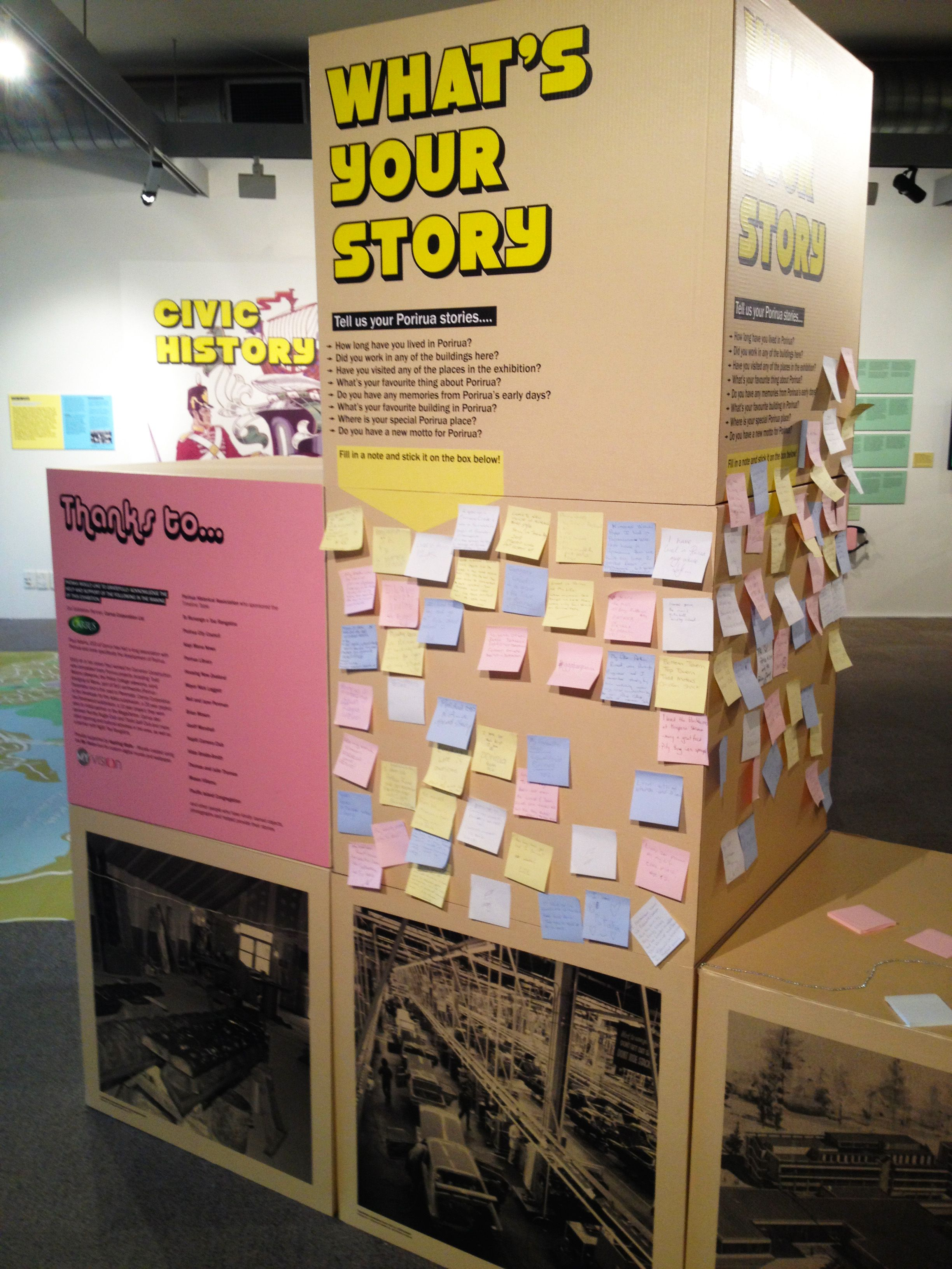 Expo Stands Nz : We built this city exhibition at pataka art museum in