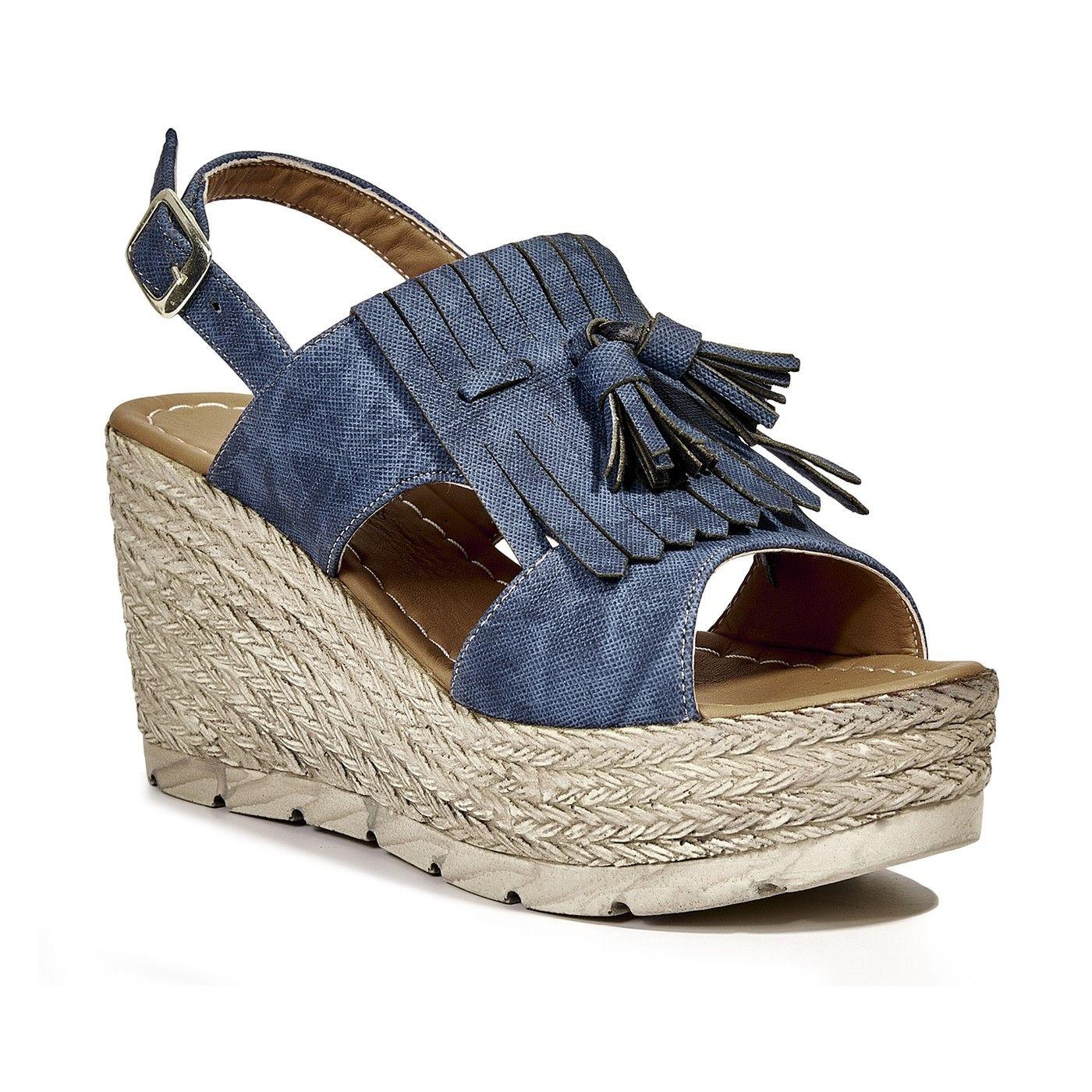 21146b79bae5 Lacivert Kadın Sandalet Kadın Sandalet