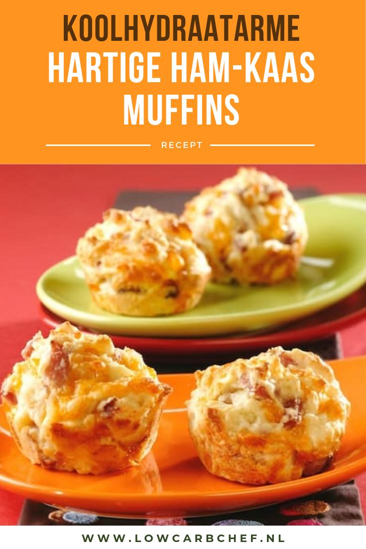 Hartige ham-kaas muffins