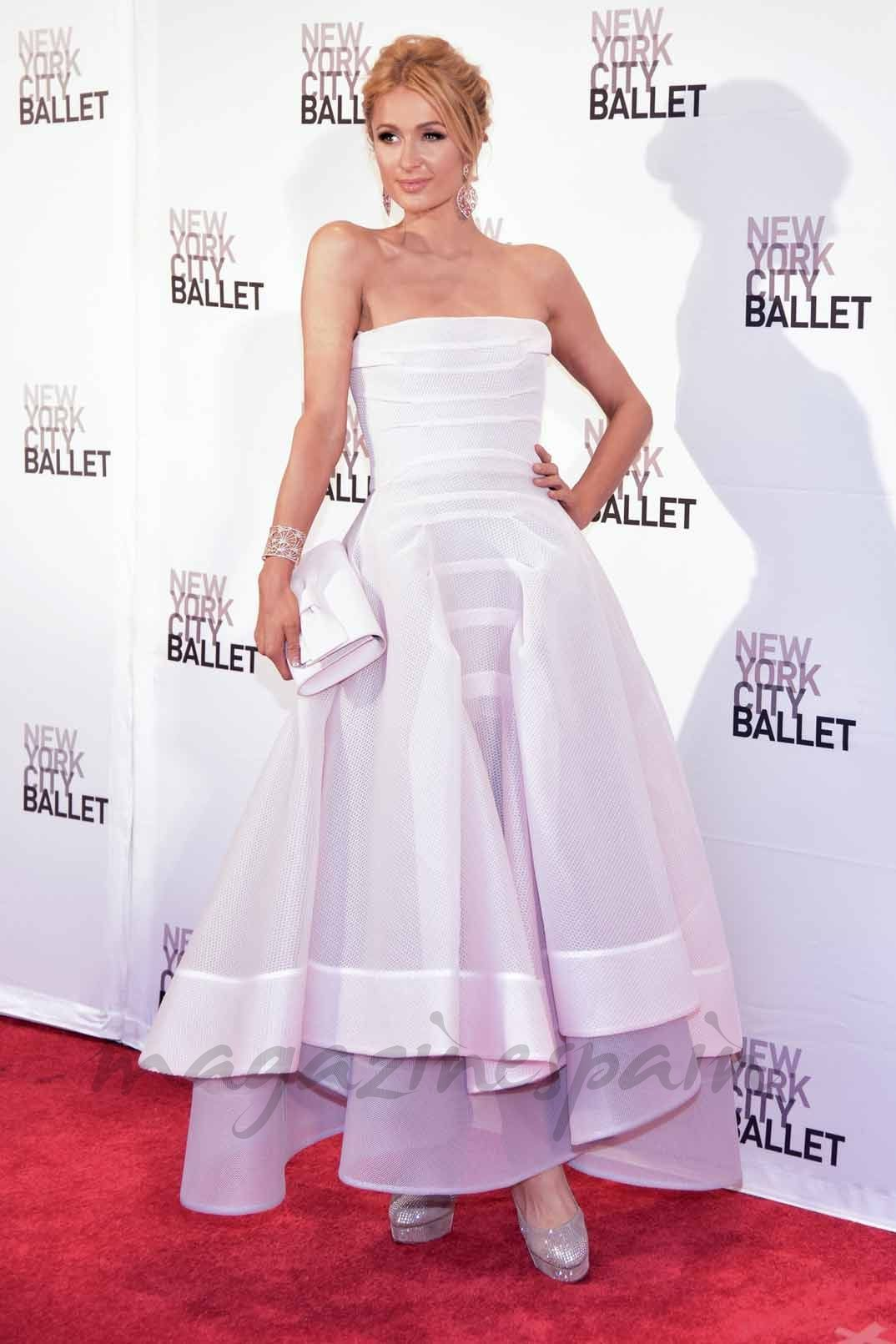 Paris Hilton en el New York City Ballet