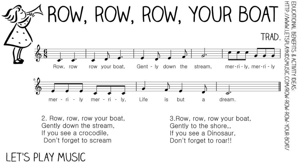 Row Your Boat First Nursery