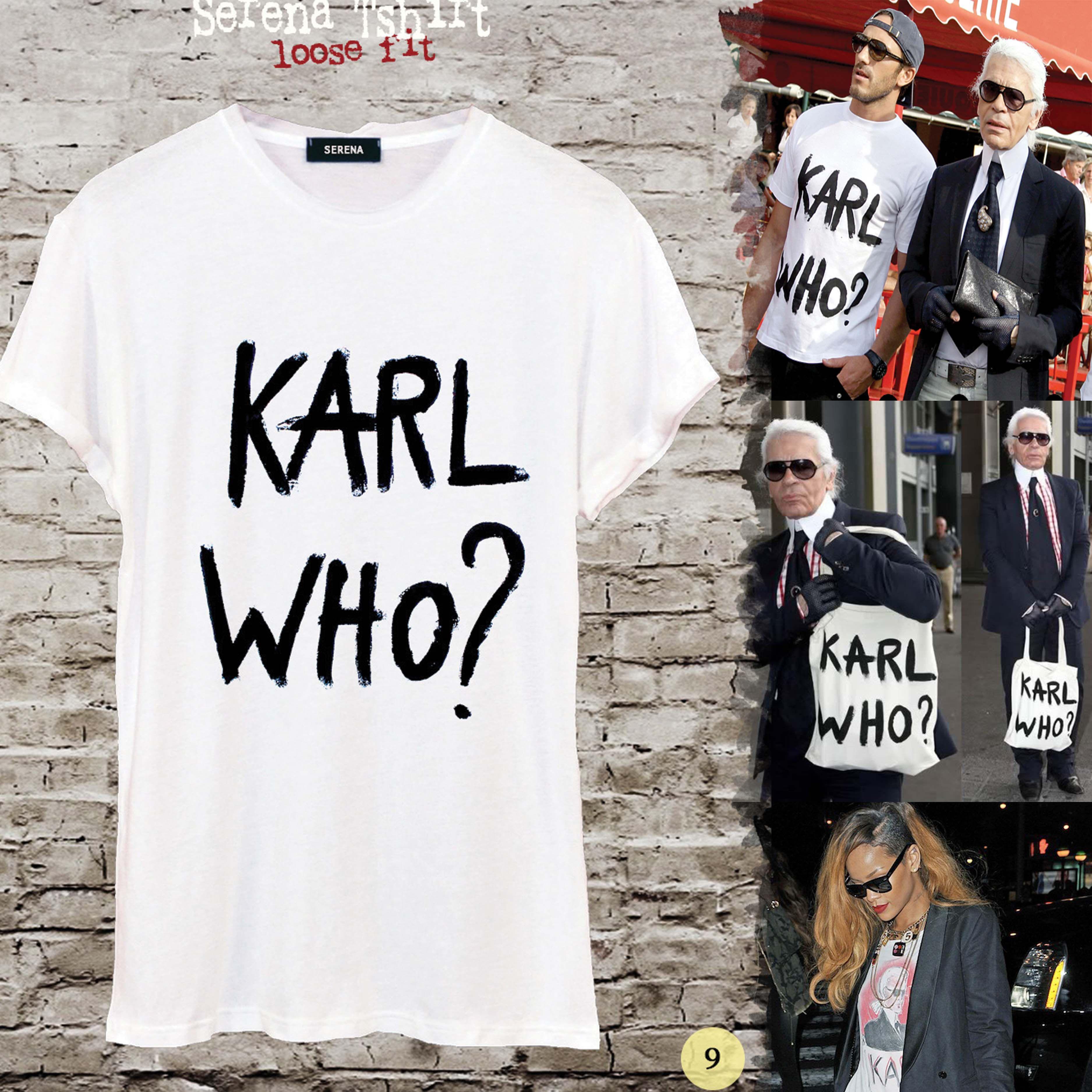 T-shirt design handmade - Karl Who T Shirt Pop Art Tshirt Fashion Unisex Eco Print Shirt