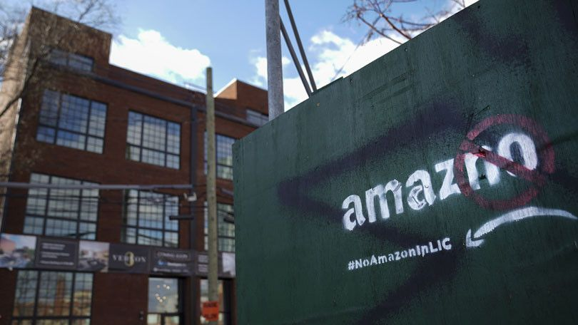 Newark Makes Hq2 Pitch To Amazon After Collapse Of Nyc Deal Long
