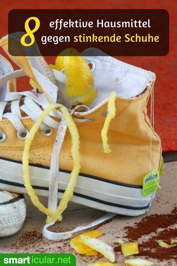 Hausmittel Stinkende Schuhe