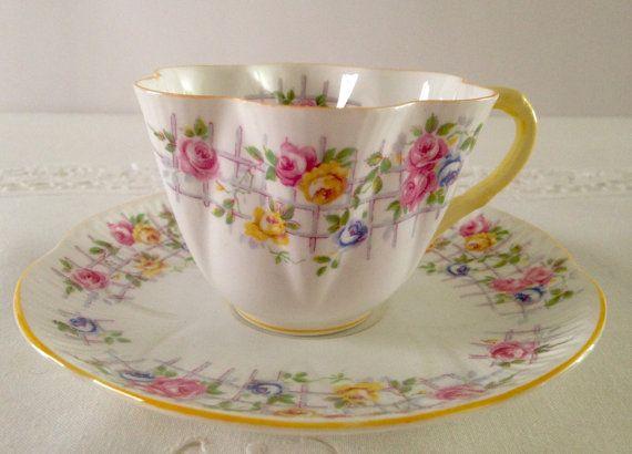 Shelley Dainty Tea Cup & Saucer