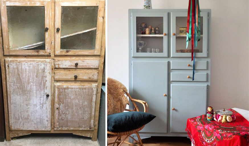 Trucs et astuces pour rénover et customiser des meubles chinés en - Comment Decaper Un Meuble